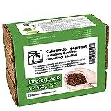 Humusziegel - Aussaaterde - 27 L - 3 x 650 g Blumenerde aus Kokosfaser - natürlich & torffrei -...