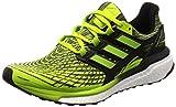 Adidas Herren Energy Boost Laufschuhe, Grün (Slime/Sslime/Cblack Sslime/Sslime/Cblack) , 42 2/3 EU