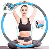 DUTISON Hoop Reifen Erwachsene Fitness - Upgrade Version 90% Stabilität,8 Knoten Abnehmbares Design...