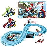 Carrera FIRST Nintendo Mario Kart™ Rennstrecken-Set für Kleinkinder   2,4m elektrische Rennbahn...