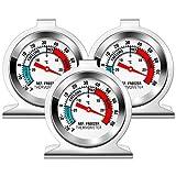 Kühlschrank Thermometer, Vintoney 3er Kühlschrankthermometer Set Kuhlschrankthermometer...