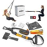 slingSports® Schlingentrainer | Sling Trainer | Suspension Trainer Set mit Türanker,...
