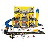 Matuke Spiel Parkhaus, Autogarage mit 3 Ebenen und 5 Fahrzeugen Parkgarage Kinder Parkhaus Spielzeug...