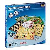 Idena 6102589 - Spielesammlung mit 150 Spielmöglichkeiten, inklusive original Mensch ärgere Dich...