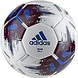 adidas Herren Team Sala Soccer Ball, White/Maroon/Blue/Silver met, One Size