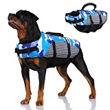 Hunde-Schwimmweste für Haustiere, tragbar, Rettungsweste mit Rettungsgriff für kleine,...