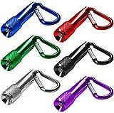 LED Schlüsselanhänger Taschenlampe Mini Taschenlampe für Outdoor Camping Radfahren