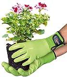 Spontex Garden, vielseitige Gartenhandschuhe fr feuchte Gartenarbeiten, verstellbares Bndchen - 1...
