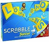 Mattel Games Y9670 - Scrabble Junior Wörterspiel und Kinderspiel, Kinderspiele Brettspiele geeignet...
