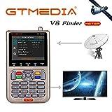 GT Media V8 Sat Finder Meter Digital HD Satellitenfinder Sat Messgerte mit Satellitenerkennung...