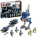 LEGO75280StarWarsCloneTroopersder501.Legion,BausetmitKampfdroidenundat-RT...
