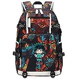 GOYING My Hero Academia Midoriya Izuku Anime Laptop Rucksack Tasche Travel Laptop Daypacks Leichte...