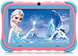 Kindertablet, 7 Zoll Kinder Tablet Pad Lerntablet fr Kids, 16 GB, IPS-Touchscreen, WiFi, Bluetooth &...