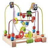 SaniMomo Activity Toys Baby Educational Holzperle Labyrinth Spielzeug Für Kinder