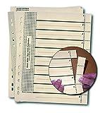 RC Trennblätter mit Perforation