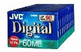 Jvc Mdv60Du10 Mini-Videokassette, digital, 10 Stück