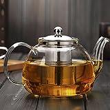 YUEKUN Edelstahl Tee Leck Teefilter doppelbehandelte Teefilter Gürtel Deckel