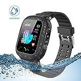 Jaybest Kinder Smartwatch Telefon Uhr,wasserdichte Kid Smart Watch für Jungen Mädchen mit LBS...