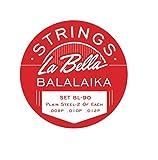 La Bella Balalaika-Saiten, Stahl, 3Stck