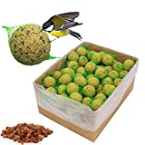 Vogelfood 100 x 90 g = 18 kg Meisenknödel mit Früchten mit Netz