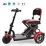 2020 Kompakt Folding Elektro-Mini Tricycle Elektro-Rollstuhl Ältere Behinderungen Leicht Zu Reisen...