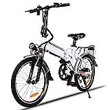 Elektrofahrrder 36V 8AH Lithium Batterie Faltrad MTB Mountainbike E-Bike 7 Speed Fahrrad...