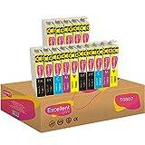 Excellent Print T0807 T0801 T0802 T0803 T0804 T0805 T0806 Compatible Ink Cartridges for Epson PX650...