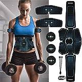 SCJ ABS Elektrischer Muskelstimulator, Elektrostimulator Fitness Körperabnehmen...