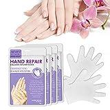 Hand Mask Feuchtigkeitsspendende Handschuhe fr die Handpflege Pflegende Regenerierende Peeling-Maske...