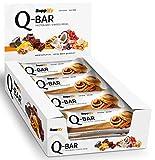 Protein Riegel Low Carb Q-Bar - Whey Isolat Proteinriegel Von Supplify Zum Abnehmen Oder...