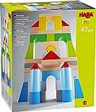 HABA 305162 - Bausteine – Große Grundpackung, bunt, mit 43 Steinen in unterschiedlichen Farben...