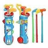 Leyee Kinder Golf Set Kinder Spielzeug Golfschläger Set Indoor Outdoor Strand Garten Spiel...