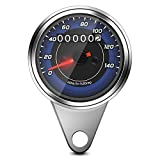 Universal-Motorrad-Kilometerzähler-Motorrad-Geschwindigkeitsmesser-Messgerät...