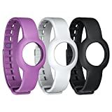 Jawbone UP Move Standard-Armband (3-er Pack) schwarz/grau/lila für UP Move...