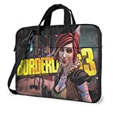14-Zoll-Laptop-Ärmeltasche, Borderlands 3 Tablet Aktentasche Ultra Portable Protective Shoulder...