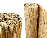 bambus-discount.com Schilfrohrmatten Premium Beach, 140 hoch x 600cm breit - Sichtschutz Matten...
