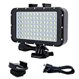 ROKF Tauchlicht, 5000lux High Power Dimmable 84 LED Video Light Fill Nachtlicht, wasserdichtes...