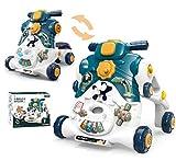 Sonderausgabe Zwei in Eins Lauflernhilfe Umwandlung Roller Walker-Spielzeug Spiele und Transport...