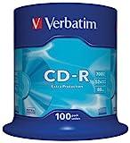 Verbatim CD-R Extra Protection - 700 MB, 52-fache Brenngeschwindigkeit mit langer Lebensdauer und...