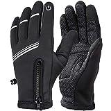 HASAGEI Radfahren Handschuhe Winter Fahrradhandschuhe Winddicht Warm Touchscreen Handschuhe Outdoor...