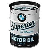 Nostalgic-Art - BMW - Superior Motor Oil Spardose, Geschenke für BMW-Fans, als Sparschwein aus...