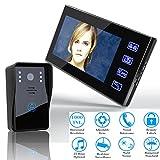OPARYY SY816A11 7 Zoll Video Türsprechanlage Intercom Türklingel Touch-Taste Fernbedienung...