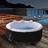 Arebos aufblasbarer Whirlpool In-Outdoor NEU - 6 Personen - Rund – 1000 Liter - Spa Pool -...