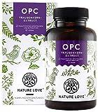 NATURE LOVE OPC Traubenkernextrakt - Premium: aus Original französischen Trauben UND Extraktion in...