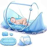 Babyzelt Reisebett Reisebett Baby Anti Mosquito Reisebettzelt Babyzelt Faltbett mit Moskitonetz,...