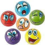 ZYDTRIP Squishy Spielzeugball, 6 Stück Stressabbaukugel Anti-Stress-Spielzeugkugeln für Kinder und...