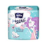 Bella For Teens Ultra Binden Sensitive: Ultradünne Binden Für Teenager, 1er Pack (1 x 10 Stück),...
