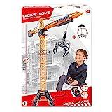 Dickie Toys Mega Crane, elektrischer Kran mit Fernbedienung, für Kinder ab 3 Jahren, 120 cm hoch,...
