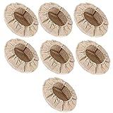 OVBBESS 7 Packungen runde Gärkörbe, 20,3 cm, Einlage für Sauerteig, Banneton, Gärkörbe, Tuch...