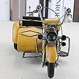 RJW Schmuckdose Gelb, Blau, Grün Dreirädriges Motorrad-Modell Metall-Handwerk Geschenke...
